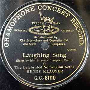 Henry Klauser - Laughing Song (Sung By Him In Every European Court) download album
