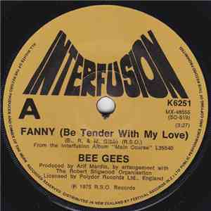 Bee Gees - Fanny (Be Tender With My Love) download album