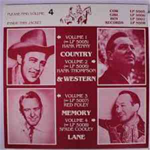 Spade Cooley - Country & Western Memory Lane Volume 4 download album