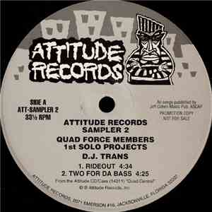 D.J. Trans / Captain Quad - Attitude Records Sampler 2 download album