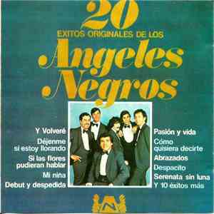 Los Angeles Negros - 20 Exitos Originales De Los Angeles Negros download album
