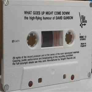 David Gunson - What Goes Up Might Come Down! - The High-Flying Humour Of David Gunson download album